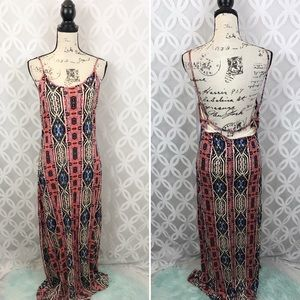 Forever 21 Rustic Long Maxi Dress NWT